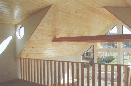 Mountain Pine, knotty pine, loft, balcony, floor plans, dimensions